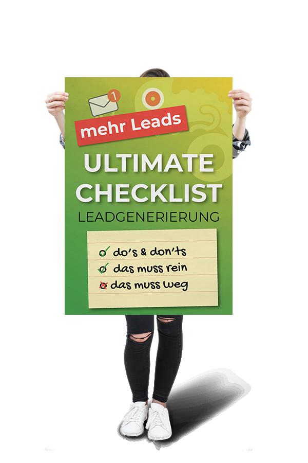 Die Ultimative Checkliste für Leadgenerierung