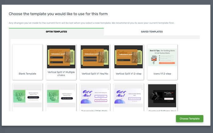 Lead-Formular mit Thrive-Leads erstellen: Opt-In-Formular Templates